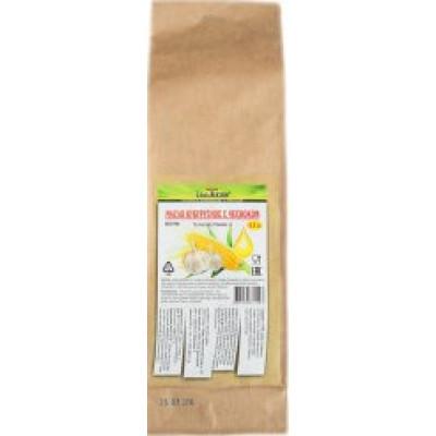 Масло кукурузное с чесноком первый холодный отжим, Соль жизни, 500 мл