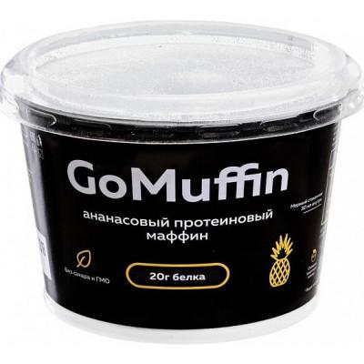 Протеиновый маффин Ананасовый Go Muffin, Васко, 54 г