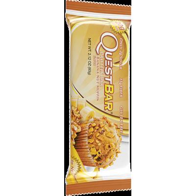 Протеиновый батончик Banana Nut Muffin Бананово-ореховый маффин, Questbar , 60 г