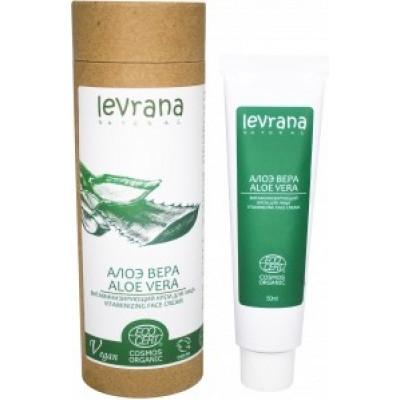 Крем для лица Алоэ Вера витаминизирующий, Levrana, 50 мл