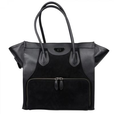 Женская сумка с контейнерами для еды Victoria Elite Tote Black (черный)