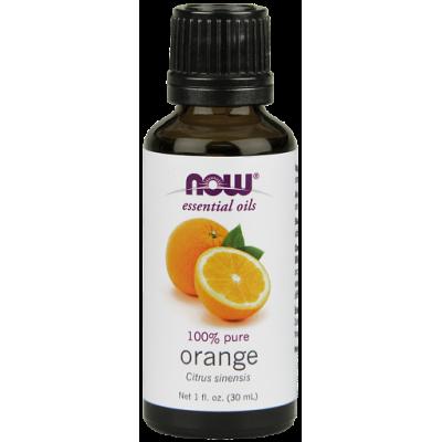 Апельсин (100% эфирное масло) NOW, 30 мл
