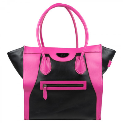 Женская сумка Victoria Elite Tote Black/Pink (черный/розовый), 6 Pack Fitness