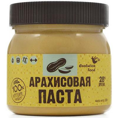 Арахисовая паста натуральная, Evolution Food, 500 г