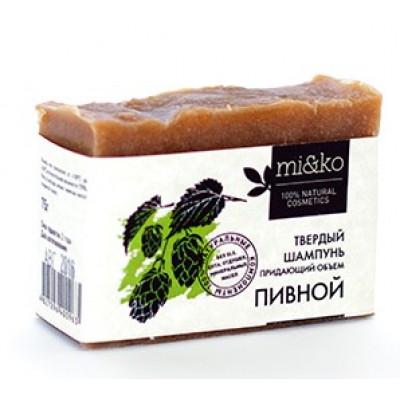 Шампунь твердый Пивной, Mi&Ko, 75 г