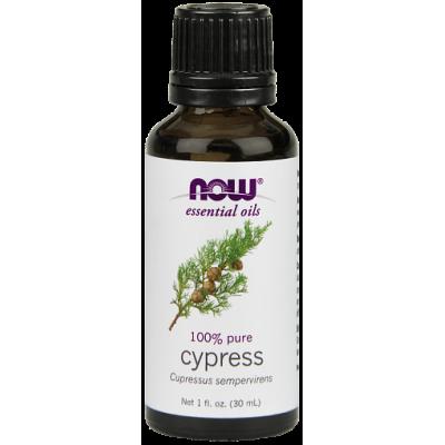 Кипарис (100% эфирное масло) NOW, 30 мл