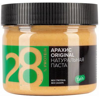 Паста арахисовая натуральная, Tatis, 300 г