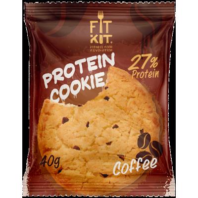 Протеиновое печенье Кофе, FitKit, 40 г