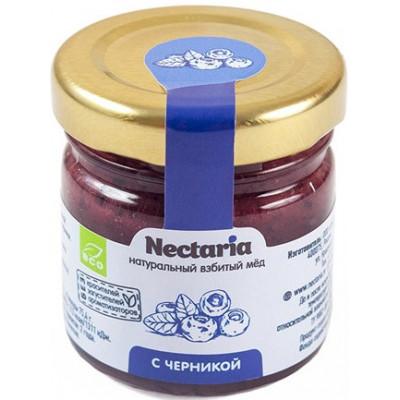 Взбитый мед с Черникой, Nectaria, 40 г