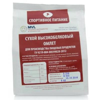 Омлет высокобелковый, смесь яичная сухая, MVL, 200 г