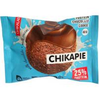 Печенье протеиновое глазированное с начинкой Шоколад, Chikalab, 60г.