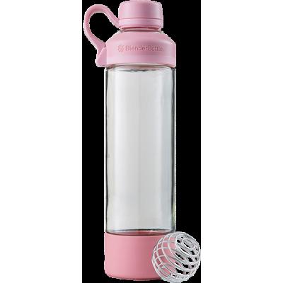 Бутылка - Шейкер Mantra 591 мл Rose, Blender Bottle, стекло